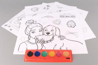 Комплект за оцветяване BARBIE