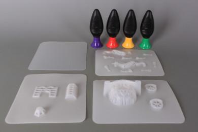 К-т за 3D моделиране Конче с карета и замък