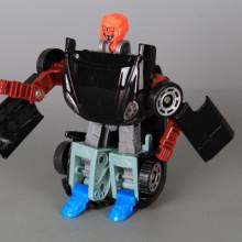 Трансформер джип-робот метален