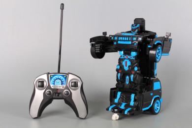 Радиоуправляем Трансформер джип/робот със сензор