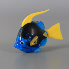 Плуваща светеща рибка