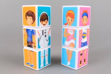 Магнитни кубчета Професии