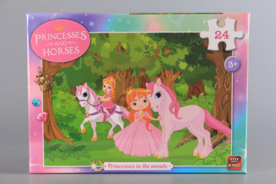 Пъзел Принцеси в гората - 24 ел.