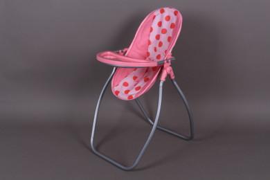 Столче за хранене / Люлка за кукла-2 в 1