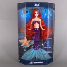 Кукла русалка с чупещи се стави