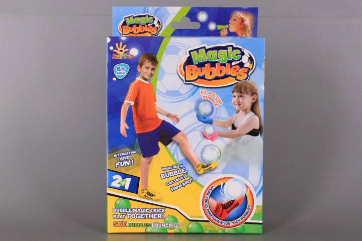 Магически футбол със сапунени балони