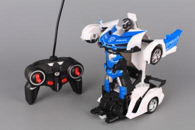Радиоуправляем Трансформер кола/робот с жестов сензор