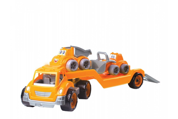 Автовоз със строителни машини-64 см.