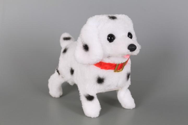 Кученце преобръщащо се