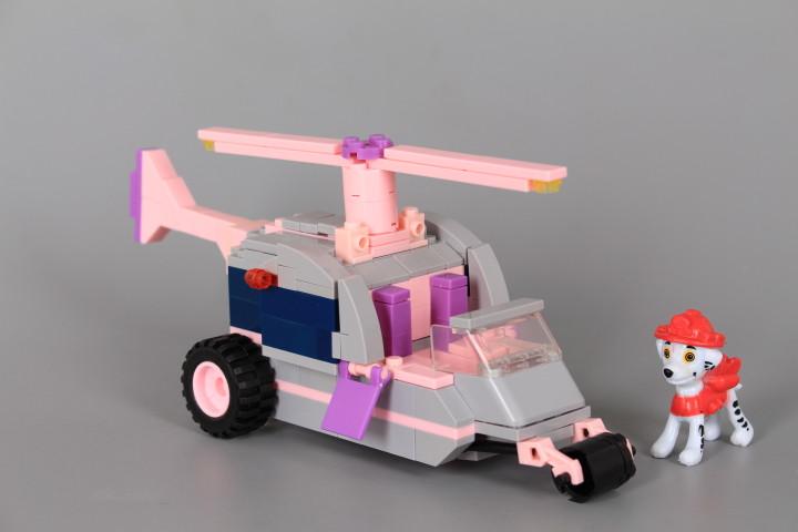Конструктор Хеликоптер с кученце-173 елемента