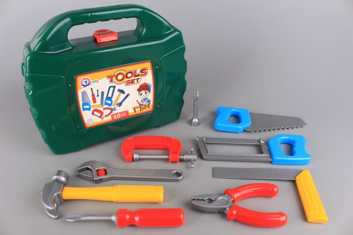Куфар с инструменти-10 ел.
