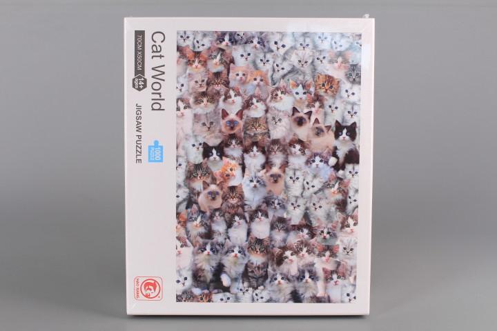Пъзел Cat World - 1000 ел.
