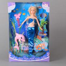 Кукла Русалка и делфинче