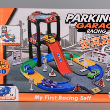 Паркинг на 3 етажа с 4 автомобила