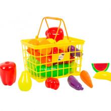 Кошница с плодове и зеленчуци-25 ел.