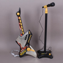К-т Рок китара и микрофон на стойка