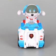 Кола с куче-робот