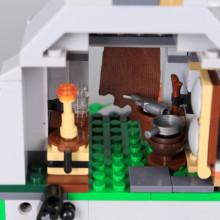 Конструктор Планинска колиба-253 елемента