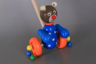 Дървена буталка животинка