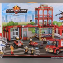 Конструктор Пожарникарски участък-1180 елемента