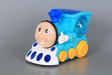 Забавно локомотивче с 4D светлинни ефекти