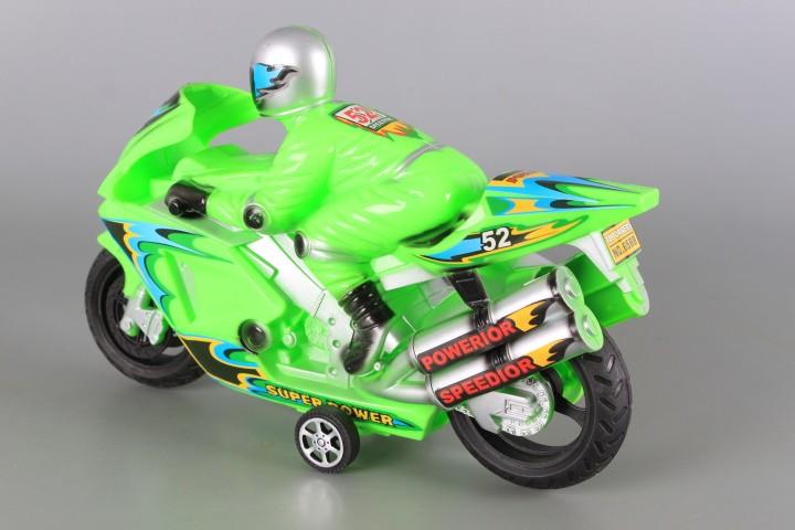Мотор с моторист-фрикционен