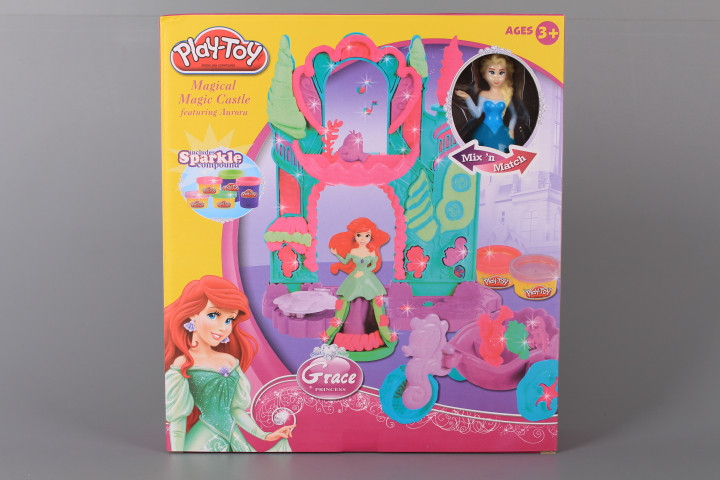 К-т с моделин Замък и принцеса