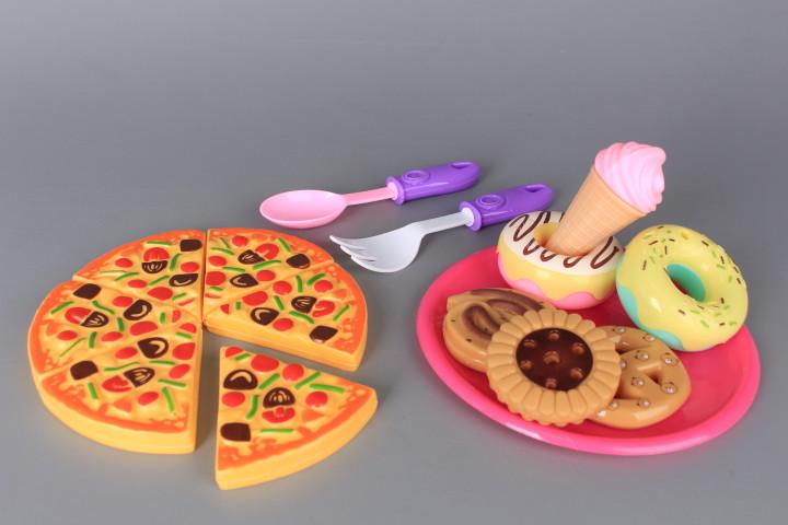 Комплект пица и сладки
