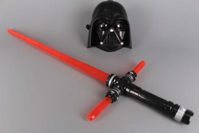 К-т Маска и джедайски меч със звукови и светлинни ефекти