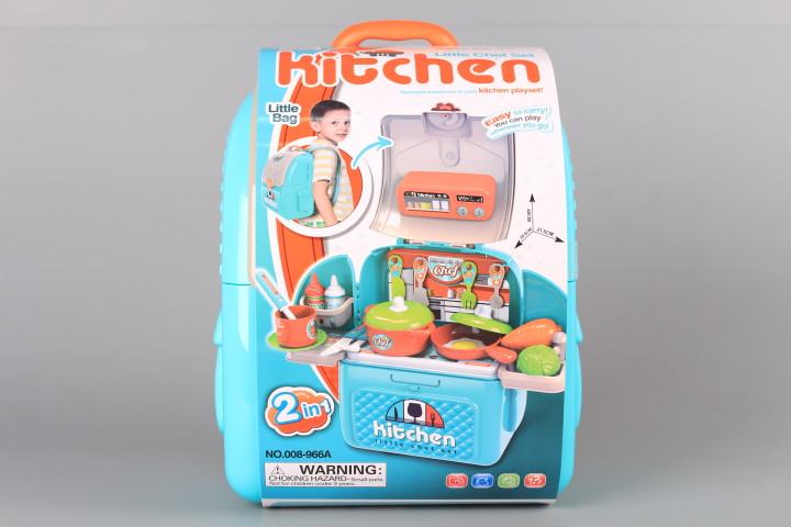 Куфар - раница Кухненски комплект - 3 в 1