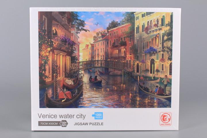 Пъзел Venice water city - 1000 ел.