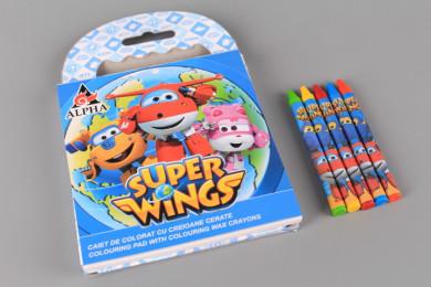 Комплект за оцветяване -  SUPER WINGS
