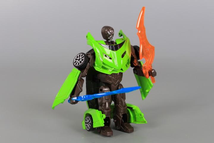 Метален трансформер робот-кола