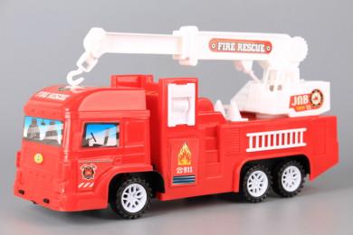 Пожарна кола с разтегателна стълба