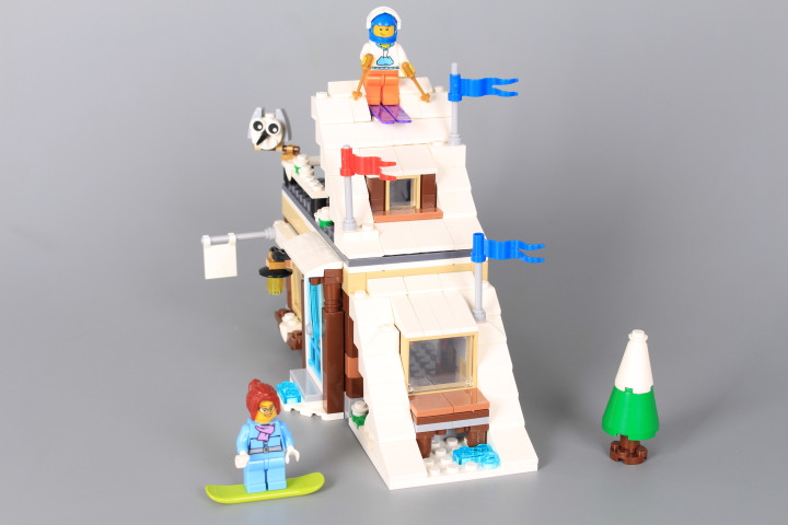 Конструктор Зимна ваканция (3 в 1)-386 елемента
