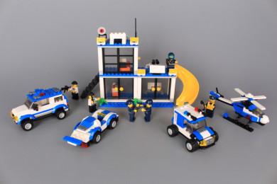 Конструктор CITY POLICE - 505 ел.