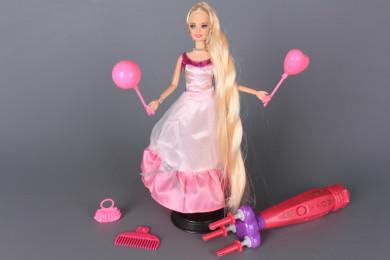 Кукла и машинка за плитки