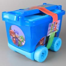 Рисувателен комплект в количка PJ MASKS