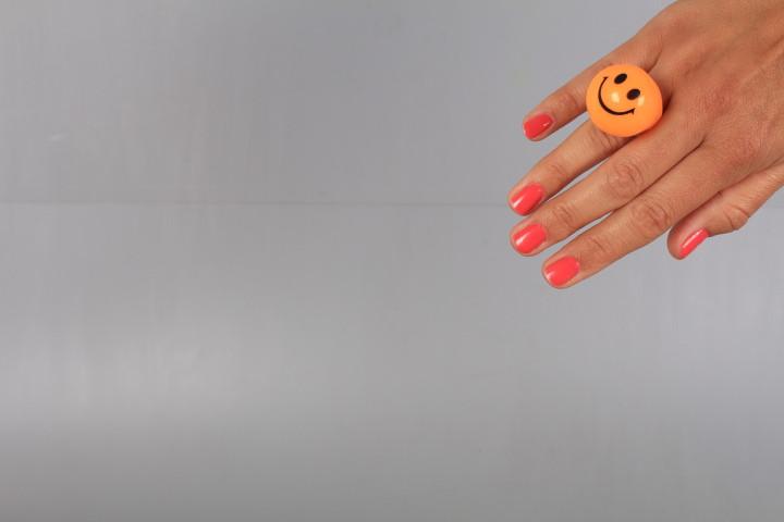 Светещ пръстен-усмивка