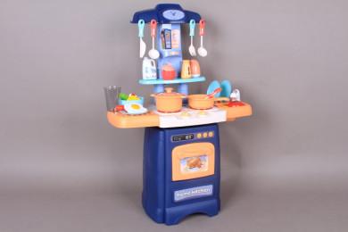 Кухня с течаща вода, светещи котлони и реалистични звуци - 62 см.