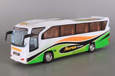 Фрикционен автобус със звук и светлина