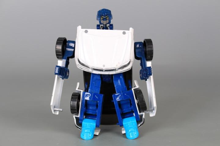 Трансформер кола-робот метален