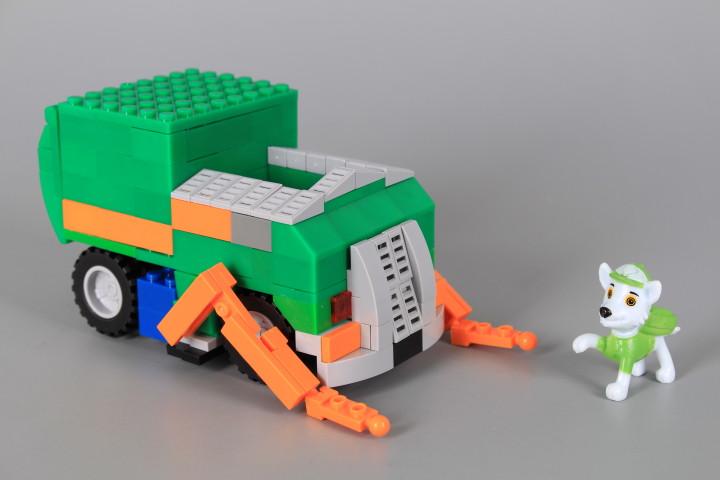 Конструктор Камион с кученце-197 елемента