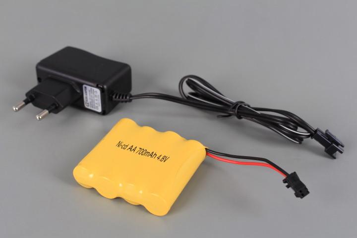 Радиоуправляем джип 6WD със зареждащи се батерии