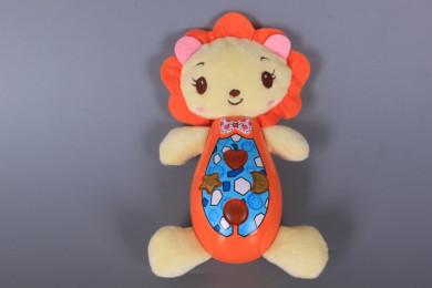 Музикално лъвче със светещи бутони