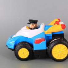Радиоуправляема полицейска кола с музика, светлинни ефекти и зареждащи се батерии