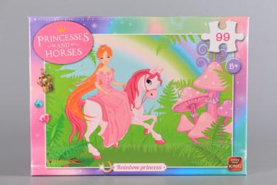 Пъзел Принцесата и дъгата - 99 ел.
