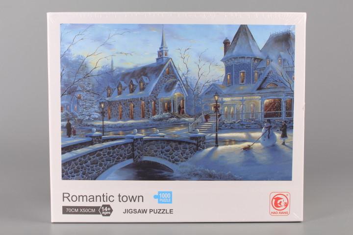 Пъзел Romantic town - 1000 ел.