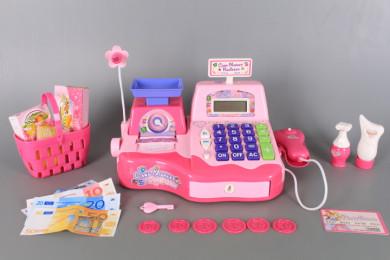 Касов апарат с калкулатор и касова лента