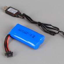 Радиоуправляем джип катерач със зареждащи се батерии